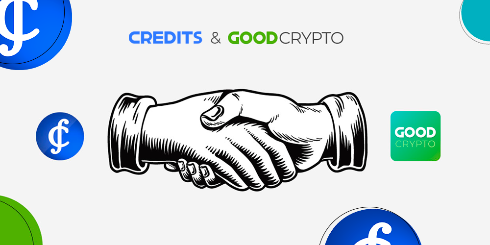 Good Crypto X Credits: Partnership Announcement