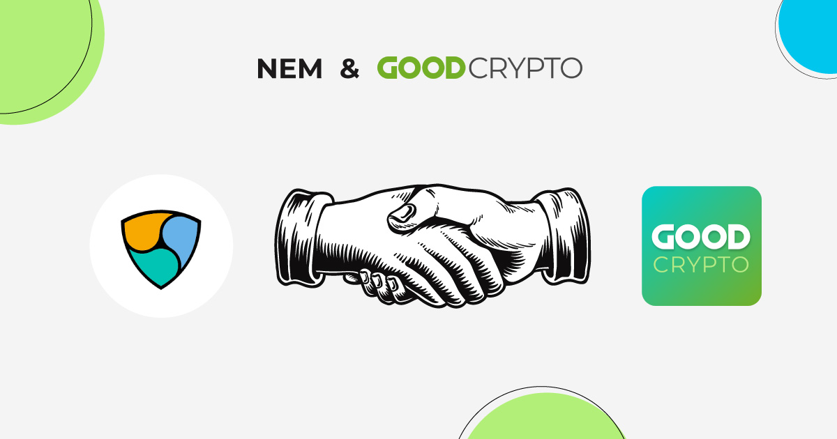 Good Crypto partners with NEM, providing better portfolio tracking and trading for the NEM community