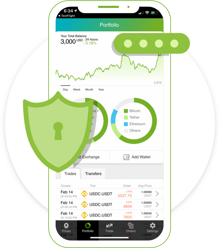 Good Crypto is one of the most Secure cryptocurrency trading apps on the market