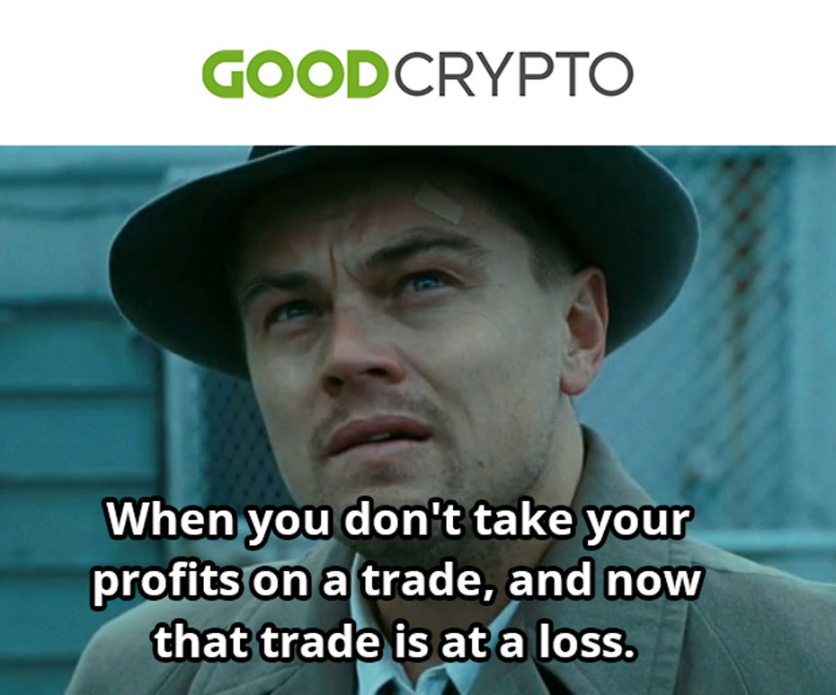 Yes, that is why you need to use Stop Loss in the Good Crypto App 😏