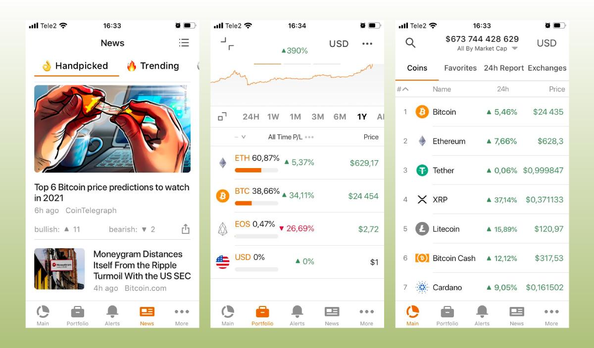 Обзор CoinStats