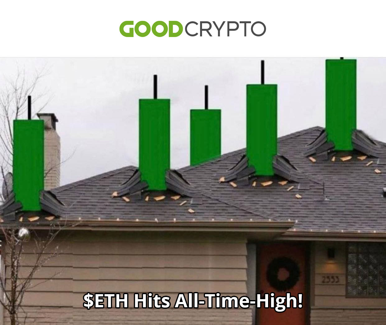 $ETH Hits All-Time-High!