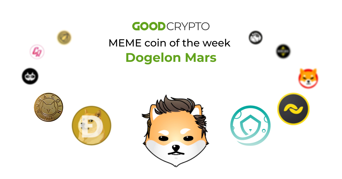 The cryptocurrency Dogelon Mars (ELON) 2is a fork of the meme token Dogecoin.