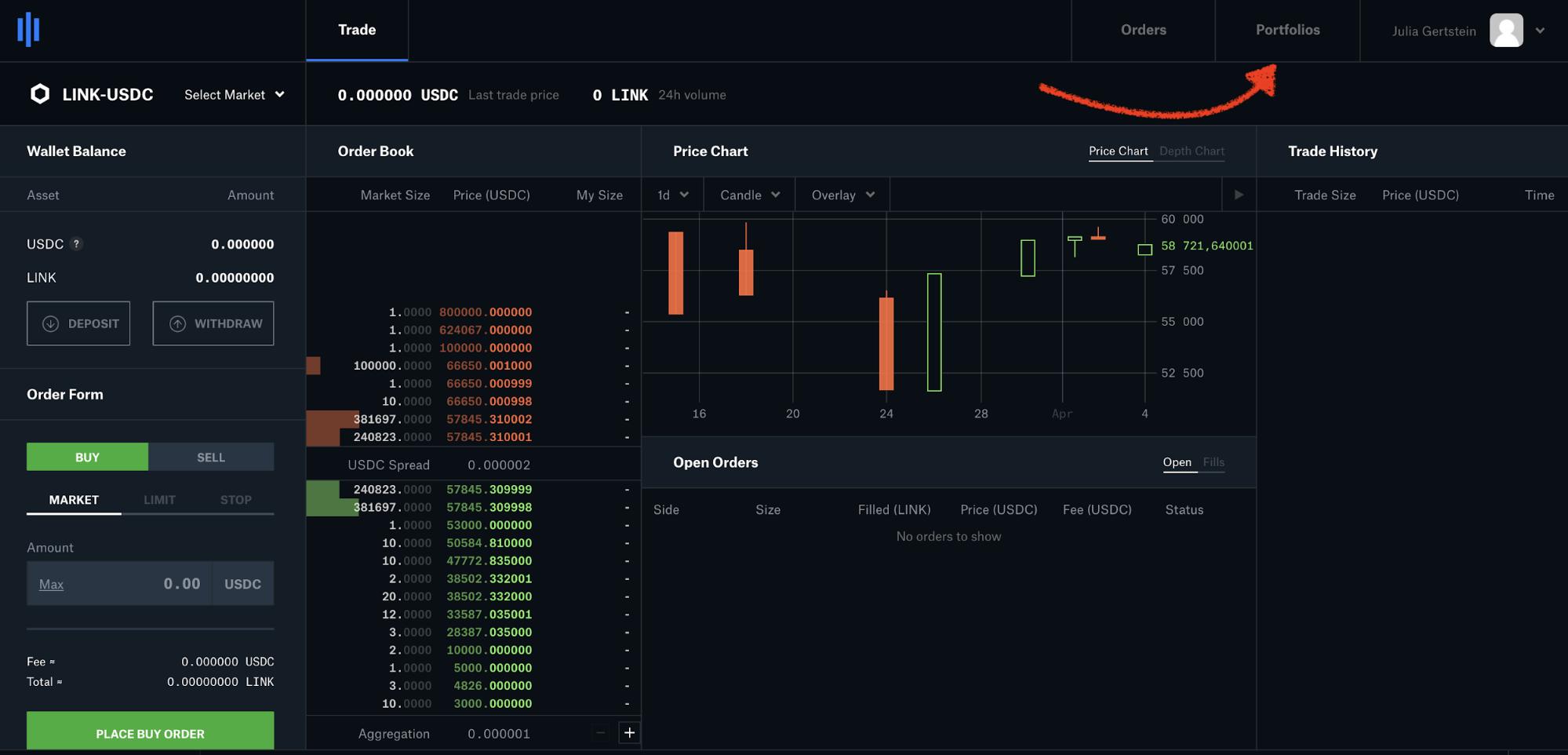 Как отправить деньги с Coinbase Pro на Кракен