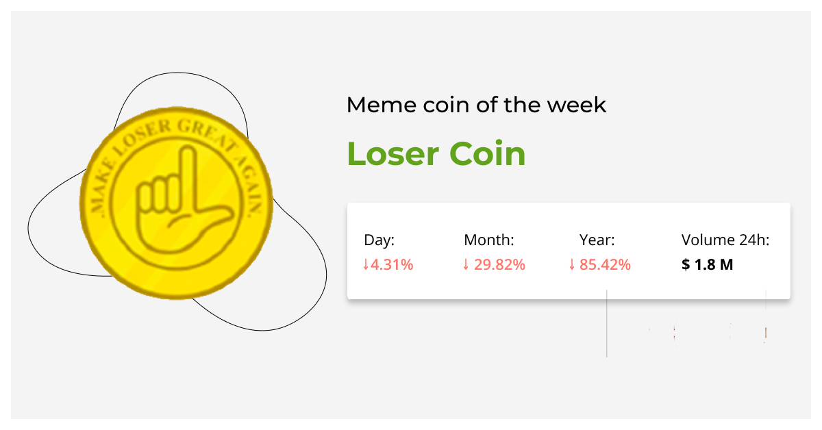 Loser coin of the week